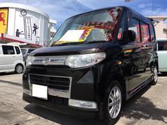 沖縄の中古車 ダイハツ タント 車両価格 56万円 リ済込 平成22年 9.5万K アストラルブラッククリスタルマイカ