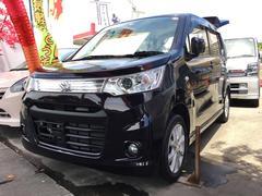 沖縄の中古車 スズキ ワゴンRスティングレー 車両価格 63万円 リ済込 平成25年 9.9万K ダークパープル