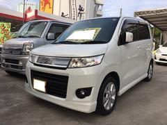 沖縄の中古車 スズキ ワゴンR 車両価格 45万円 リ済込 平成20年 11.9万K パールホワイト