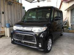 沖縄の中古車 ダイハツ タント 車両価格 49万円 リ済込 平成22年 11.2万K ブラックマイカ