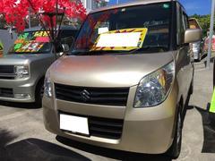 沖縄の中古車 スズキ パレット 車両価格 44万円 リ済込 平成23年 10.8万K クリアベージュメタリック