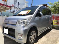 沖縄の中古車 ダイハツ ムーヴ 車両価格 39万円 リ済込 平成22年 10.8万K ブライトシルバーメタリック