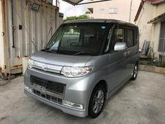 沖縄の中古車 ダイハツ タント 車両価格 45万円 リ済込 平成22年 11.6万K シルバー