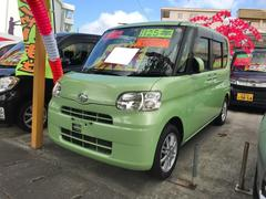 沖縄の中古車 ダイハツ タント 車両価格 49万円 リ済込 平成25年 9.8万K グリーン
