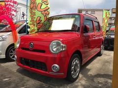沖縄の中古車 ダイハツ ミラココア 車両価格 49万円 リ済込 平成21年 10.1万K シャイニングレッド