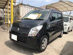 沖縄の中古車 スズキ ワゴンR 車両価格 42万円 リ済込 平成24年 9.9万K ブルーイッシュブラックパール3