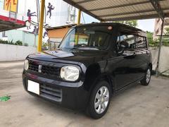 沖縄の中古車 スズキ アルトラパン 車両価格 39万円 リ済込 平成20年 10.0万K ブルーイッシュブラックパール3