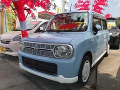 沖縄の中古車 スズキ アルトラパン 車両価格 49万円 リ済込 平成23年 11.0万K ライトブルー