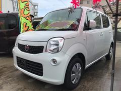沖縄の中古車 日産 モコ 車両価格 49万円 リ済込 平成25年 10.8万K パールホワイト