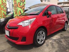 沖縄の中古車 トヨタ ラクティス 車両価格 55万円 リ済込 平成22年 8.6万K レッド