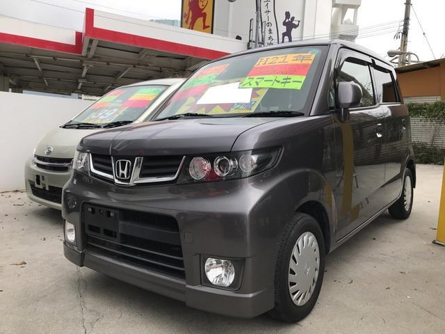 沖縄の中古車 ホンダ ゼストスパーク 車両価格 35万円 リ済込 平成21年 10.1万km アドミラルグレーメタリック