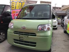 沖縄の中古車 ダイハツ タント 車両価格 49万円 リ済込 平成23年 10.9万K Lグリーン