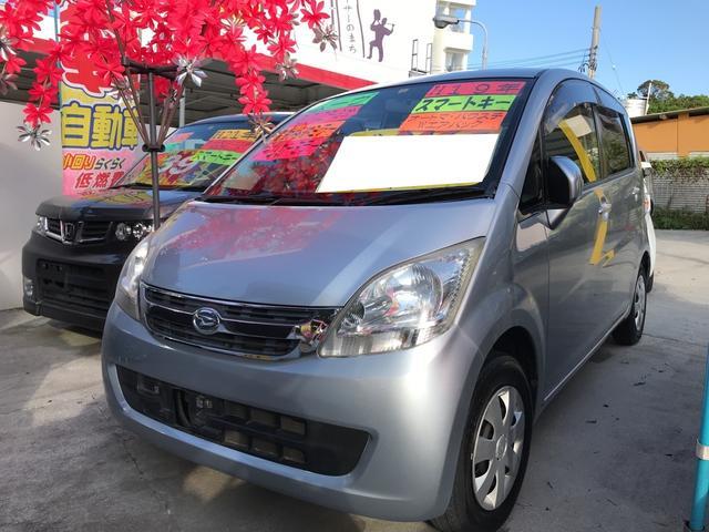 沖縄の中古車 ダイハツ ムーヴ 車両価格 23万円 リ済込 平成19年 11.4万km ブライトシルバーメタリック