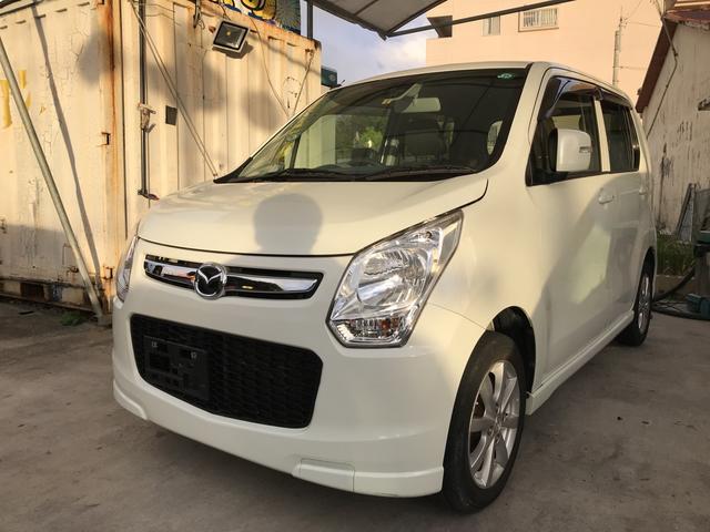 沖縄の中古車 マツダ フレア 車両価格 49万円 リ済込 平成25年 11.4万km パールホワイト