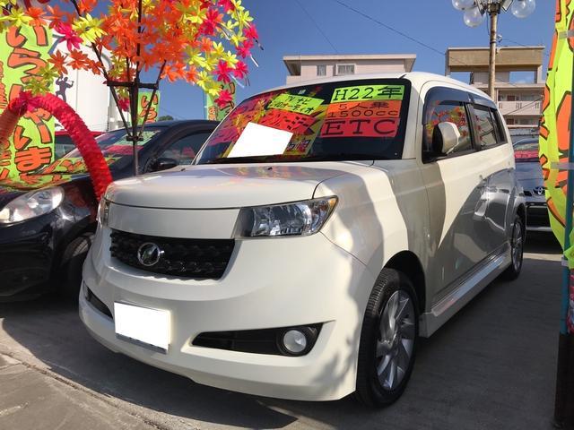沖縄の中古車 トヨタ bB 車両価格 45万円 リ済込 平成22年 11.3万km パールホワイトI