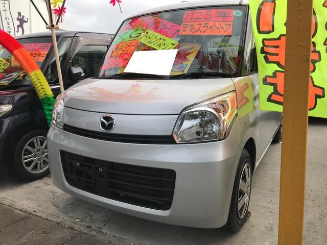 沖縄の中古車 マツダ フレアワゴン 車両価格 53万円 リ済込 平成25年 10.2万km シルキーシルバーメタリック