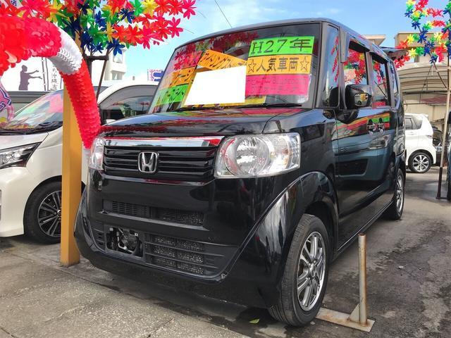 沖縄県の中古車ならN-BOX G SSパッケージ ナビ 軽自動車 衝突被害軽減システム