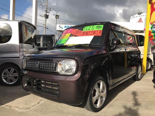 沖縄県の中古車ならアルトラパン Xセレクション シートヒーター スマートキー