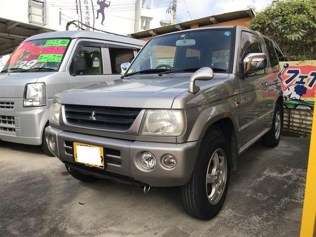 沖縄県の中古車ならパジェロミニ 5MT キーレス