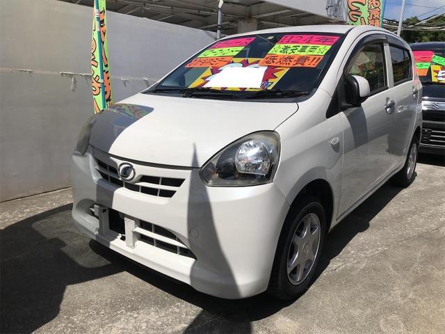 沖縄の中古車 ダイハツ ミライース 車両価格 29万円 リ済込 2012(平成24)年 9.9万km パールホワイトIII