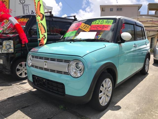 沖縄県沖縄市の中古車ならアルトラパン X レーダーブレーキサポート