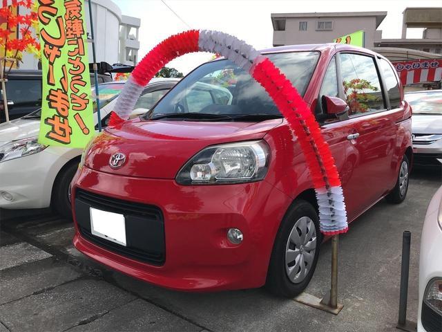 沖縄の中古車 トヨタ ポルテ 車両価格 53万円 リ済込 2012(平成24)年 8.5万km スーパーレッドV