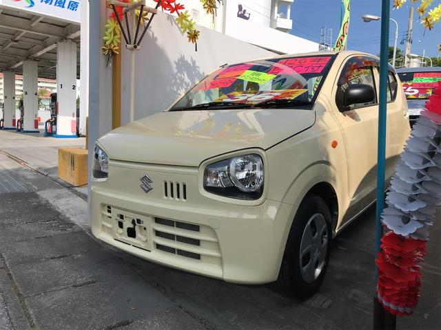 沖縄県沖縄市の中古車ならアルト L レーダーブレーキサポート キーレス アイドリングストップ シートヒーター ETC