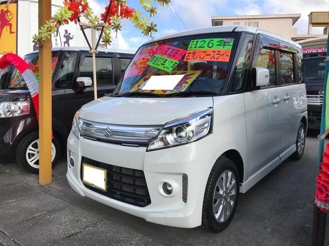 沖縄県沖縄市の中古車ならスペーシアカスタム XS スマートキー プッシュスタート 左パワースライド
