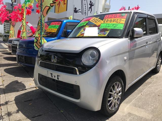 沖縄県の中古車ならN-ONE G スマートキー プッシュスタート ナビ TV