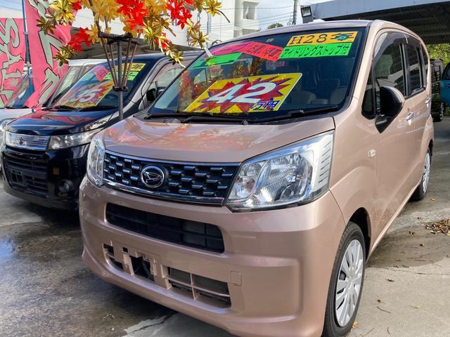 沖縄の中古車 ダイハツ ムーヴ 車両価格 42万円 リ済込 2016(平成28)年 11.9万km ライトローズマイカメタリック