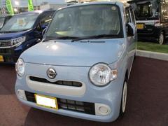 沖縄の中古車 ダイハツ ミラココア 車両価格 118万円 リ済込 平成28年 0.8万K ミストブルーマイカメタリック