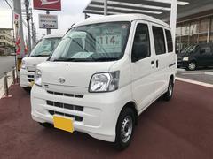 沖縄の中古車 ダイハツ ハイゼットカーゴ 車両価格 107万円 リ済込 平成28年 0.7万K ホワイト