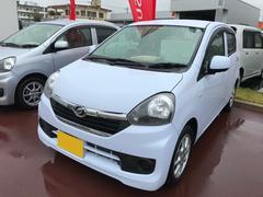 沖縄の中古車 ダイハツ ミライース 車両価格 95万円 リ済別 平成28年 0.3万K ライトブルー