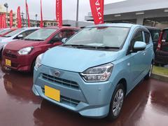 沖縄の中古車 ダイハツ ミライース 車両価格 106万円 リ済別 平成29年 974K ライトブルー