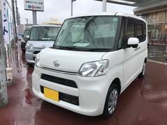 沖縄の中古車 ダイハツ タント 車両価格 117万円 リ済別 平成28年 0.4万K ホワイト
