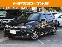 沖縄の中古車 トヨタ カローラフィールダー 車両価格 147万円 リ済別 平成25年 0.7万K ブラック