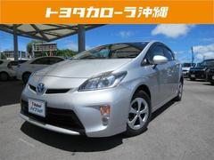 沖縄の中古車 トヨタ プリウス 車両価格 122万円 リ済別 平成25年 5.1万K シルバー