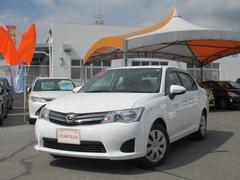 沖縄の中古車 トヨタ カローラアクシオ 車両価格 69万円 リ済別 平成25年 6.5万K スーパーホワイトII