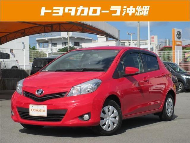 沖縄の中古車 トヨタ ヴィッツ 車両価格 73万円 リ済別 2013(平成25)年 4.1万km レッド