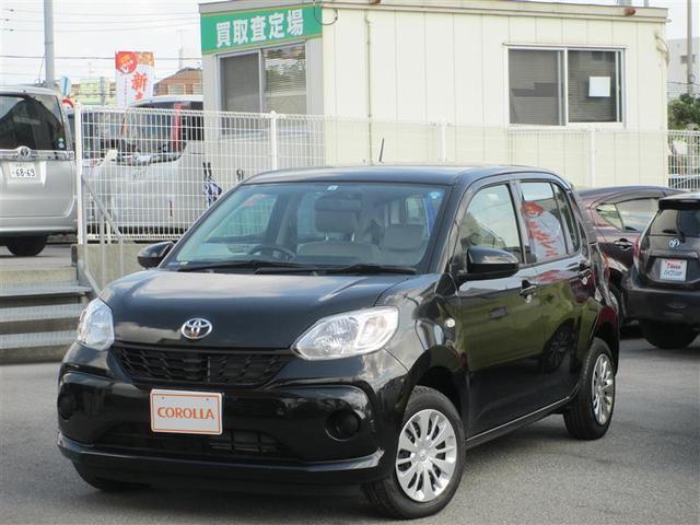 沖縄の中古車 トヨタ パッソ 車両価格 112万円 リ済別 平成30年 261km ブラック