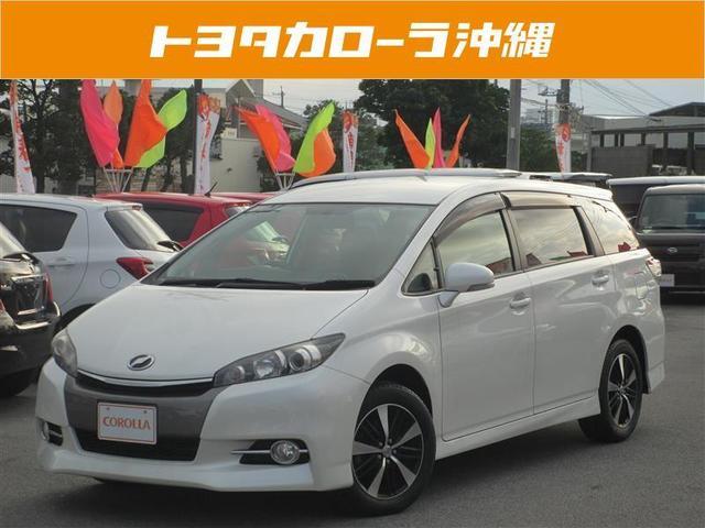 沖縄の中古車 トヨタ ウィッシュ 車両価格 135万円 リ済別 2013(平成25)年 4.6万km パールマイカ