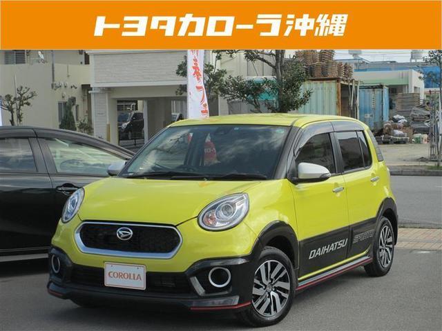 沖縄の中古車 ダイハツ ブーン 車両価格 124万円 リ済別 2016(平成28)年 765km ソノタツートン
