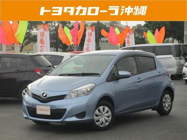 沖縄の中古車 トヨタ ヴィッツ 車両価格 89万円 リ済別 平成26年 3.6万km ブルー