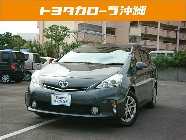 沖縄の中古車 トヨタ プリウスアルファ 車両価格 139万円 リ済別 2013(平成25)年 5.7万km ガンメタ