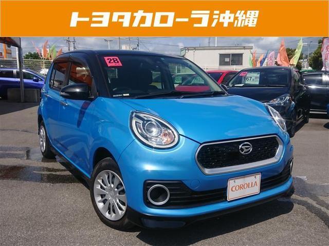 沖縄の中古車 ダイハツ ブーン 車両価格 116万円 リ済別 2016(平成28)年 0.2万km ブルー