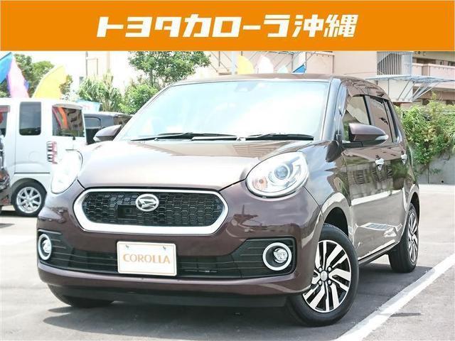 沖縄の中古車 ダイハツ ブーン 車両価格 108万円 リ済別 2017(平成29)年 2.1万km ブラウン