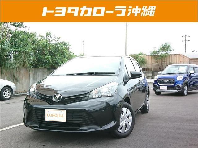 沖縄の中古車 トヨタ ヴィッツ 車両価格 94万円 リ済別 2016(平成28)年 5.0万km ブラック