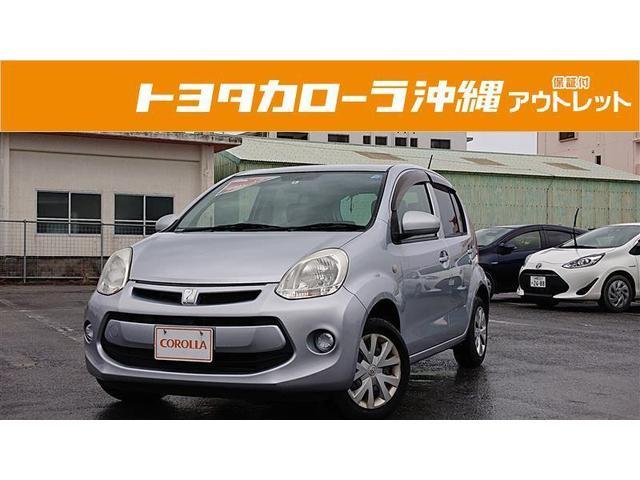 沖縄の中古車 トヨタ パッソ 車両価格 48万円 リ済別 2014(平成26)年 5.0万km シルバー