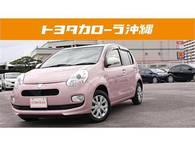 沖縄の中古車 トヨタ パッソ 車両価格 90万円 リ済別 2015(平成27)年 2.2万km ピンク