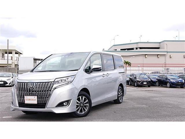沖縄の中古車 トヨタ エスクァイア 車両価格 256万円 リ済別 2019年 1.0万km シルバー